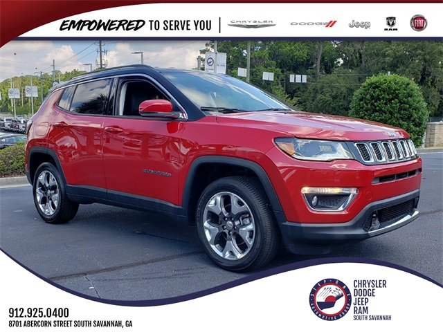 Jeep Certified Pre-Owned >> Certified Pre Owned 2018 Jeep Compass Limited 4d Sport Utility In